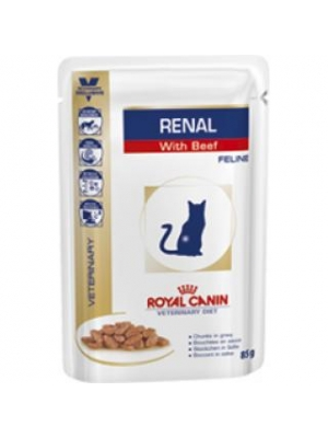 Royal Canin VD Cat kaps. Renal beef 85 g