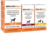 Hepa-Pet Plus 250mg 30tbl