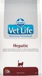 Vet Life Natural Feline Dry Hepatic 400g