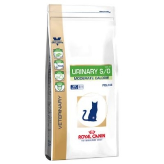 Royal Canin VD Cat Dry Urinary S/O Moderate Cal. 3,5 kg