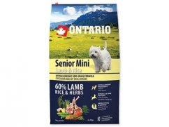 Ontario vital senior mini lamb 700